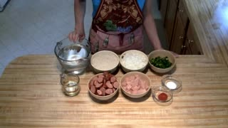 How to cook a chicken jambalaya - Video