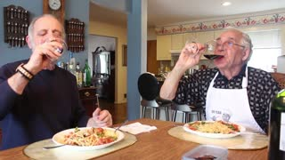 Frog Legs and Linguine Recipe - Video