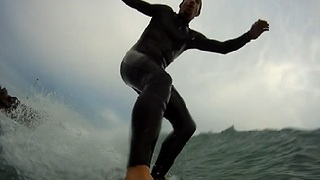 Experience Surfing Through Onboard Camera