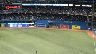 Streaker During Blue Jays MLB Home Opener - Video
