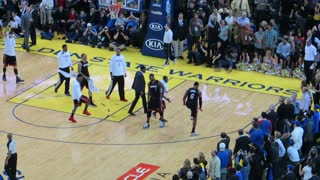 LeBron James game winner at Golden State - 02/12/2014 - Video