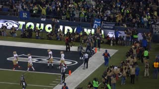 NFC Championship: Seattle Seahawks vs. San Francisco 49ers- Marshawn Lynch Touchdown Run - Video