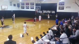 Awesome 3-Point Game Winning Shot - Video