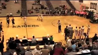 Incredible Ending to Basketball Game - Video