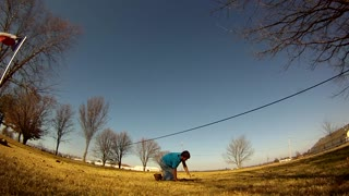Slackline - Broken Nose! - Video