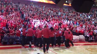 Nebraska Fans After Getting into NCAA Tournament - Video