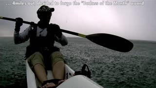 CAUGHT IN A DANGEROUS STORM - KAYAKING LAKE ONTARIO - Video
