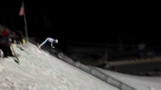 Lydia Lassila Lands a Rare Triple Somersault on Skis - Video