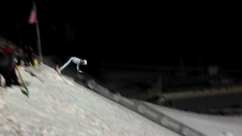 Lydia Lassila Lands a Rare Triple Somersault on Skis