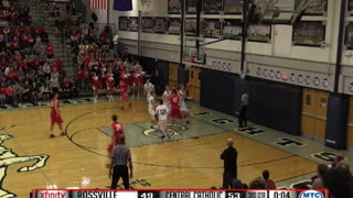 Bank Shot Buzzer Beater During High School Game