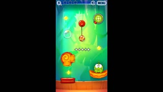 Cut The Rope Experiments - Bamboo Chutes - Level 8-11 - Video