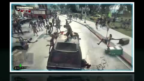 Dead Rising 3 Secret Police Car Location