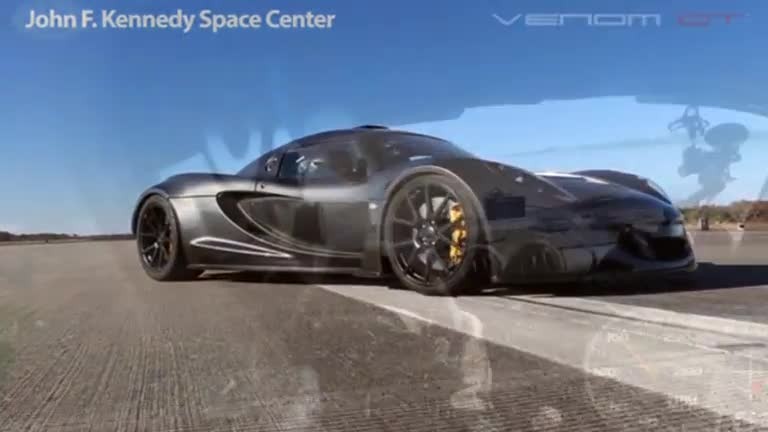 The World's Fastest Sports Car - Video