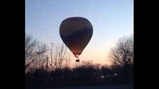 Marriage Proposal Ends in Hot Air Balloon Crash  - Video