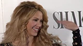 Shakira, With Pique In Tow, Promotes Latest Album - Video