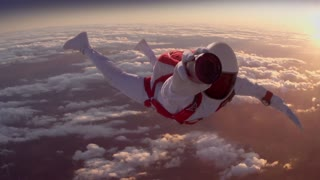Gravity Defying Skydive Ad - Video
