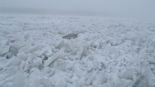 Ice Jam on Niagara River - Video