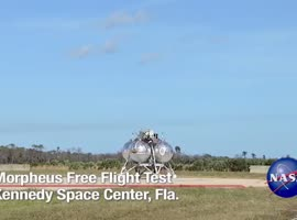NASA Lander Completes First Explosion-Free Test Flight - Video