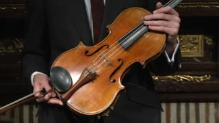 Rare Stradivari Viola Could Set Auction Record - Video