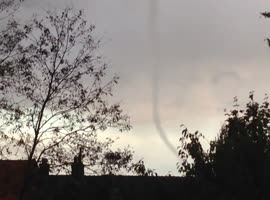Tornado in Arnhem - The Netherlands - Video