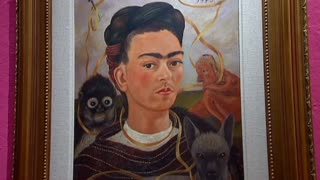 Kahlo And Rivera Paintings Come Home - Video
