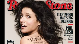 Julia Louis-Dreyfus Gets Naked For Rolling Stone - Video
