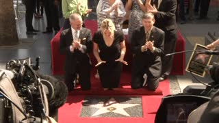 Kate Winslet Receives Star On The Hollywood Walk Of Fame - Video