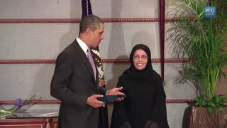 President Obama Presents the International Women of Courage Award - Video