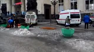 Russia People have been killed by an explosion at railway station вокзал Волгоград - Video