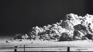 Atomic Bomb Blast With Shock and Effects in HD - Video