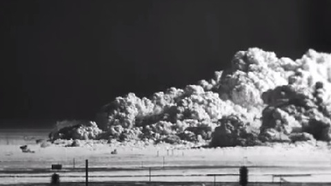Watch This HD Footage Of An Atomic Bomb Blast