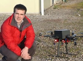 UK Drone Offered for Fukushima Clean-Up - Video