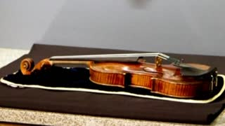 Recovered Stradivarius Plays Again - Video