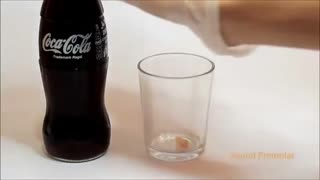 tooth if you leave it in Coca-Cola - Video