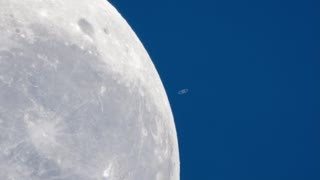 The Moon Passing In Front of Saturn - Video