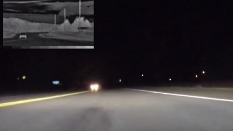 Thermal Image Night Vision on a Corvette