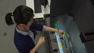 """Floating"" Screens Bring New Paradigm To Interactive Gesture Technology"