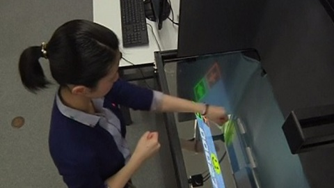 """""""Floating"""" Screens Bring New Paradigm To Interactive Gesture Technology"""