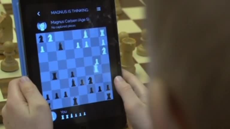 Take on the World Chess Champion - Video
