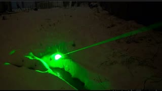 700mW  laser pointer - Video