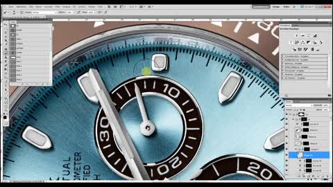 Retouching a Rolex Watch!