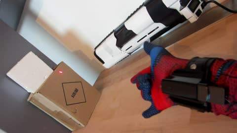 "Self-Made Spiderman ""Web Shooter"""