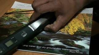 Portable Scanner - A Phenomenal Gadget for Millions of People - Video
