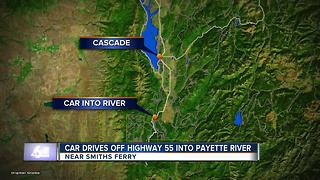 Valley County search continues for submerged car in Payette River - Video