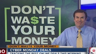 John Matarese looks at Cyber Monday deals - Video