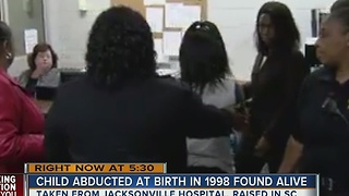 Child abducted at birth in 1998 found alive