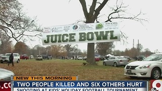 Two killed, six injured in Thanksgiving football game shooting - Video