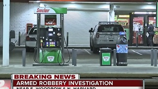 TPD search for armed robber in north Tulsa - Video