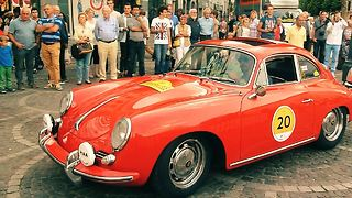 Once in a lifetime: Iconic oldtimers rally revived - Video