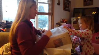 Sweet Gift Brings Out Lady's Inner Child - Video
